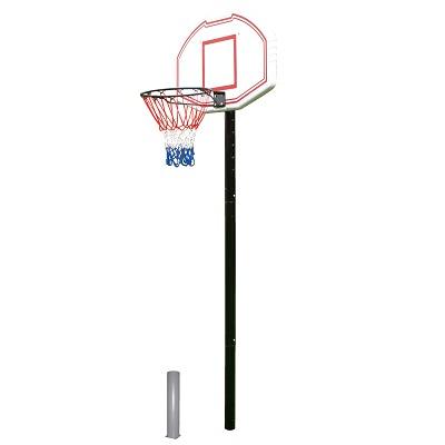 """Basketbalinstallatie """"San Antonio"""" in grondbus"""