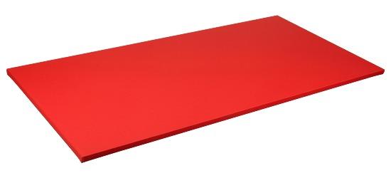 Judomat Afmeting ca. 200x100x4cm, Rood