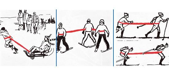 Bande Reivo® « Ski », 4 m