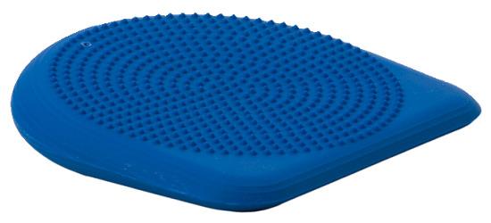 Coussin ballon incliné Togu® Dynair® Keil-Ballkissen® Premium, bleu