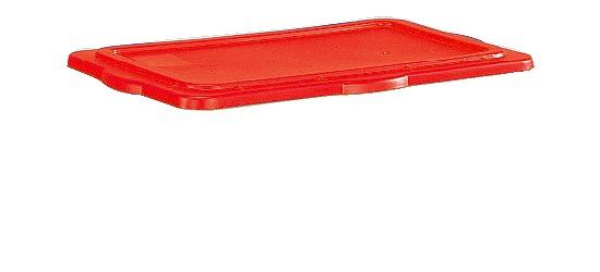 Couvercle clipable pour boîte de rangement Sport-Thieme® Rouge