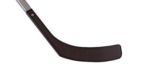 Crosse de street-hockey « Junior » Jeu à droite
