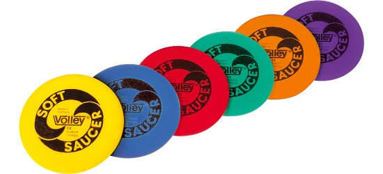 Disque volant Volley® « Soft Saucer »