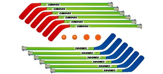 """Dom Hockeysticks-Set """"Junior"""""""