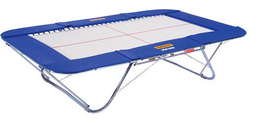 """Eurotramp® trampoline """"Master School"""" Met rolstandaard"""