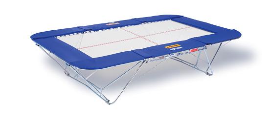 "Eurotramp® trampoline ""Master Super Spezial 13 mm"" Met rolstandaard"