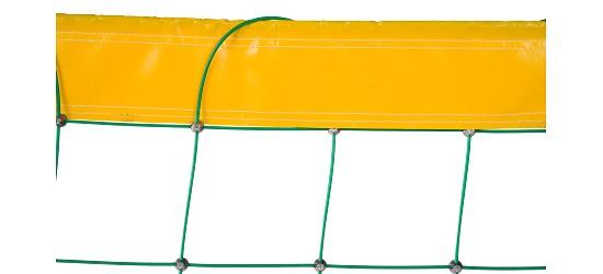 Filet de beach-volley en Dralo® Avec revêtement plastique