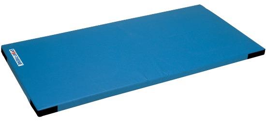 Le tapis de gymnastique léger pour enfants Sport-Thieme, 150x100x6 cm Avec coins auto-agrippants, Bleu