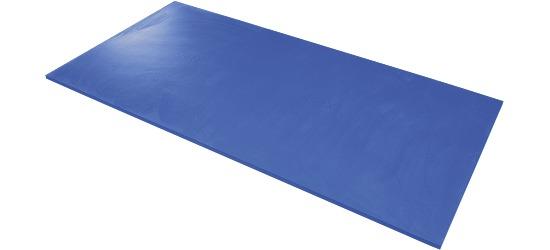 Natte de gymnastique Airex Bleu