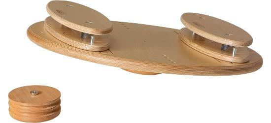 Pedalo Planche Vario avec bascules