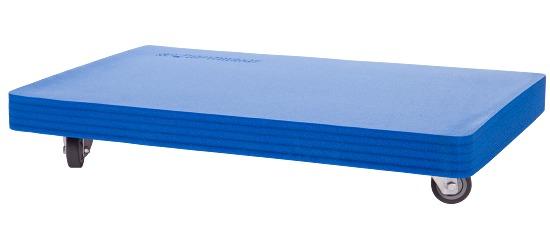 Planche à roulettes Sport-Thieme® «Soft» Rembourrage bleu