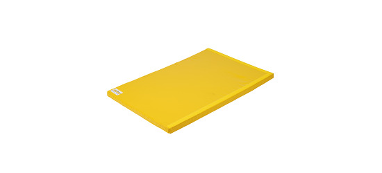 "Reivo® Turnmat ""Veilig"" Polygrip geel, 200x100x8 cm"