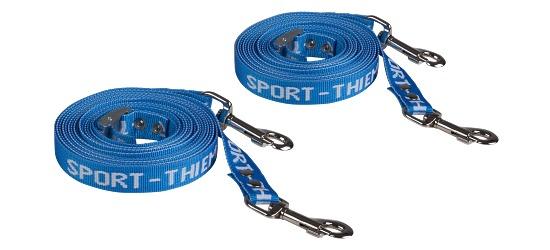 Set van Sport-thieme 2 reserveriemen voor diepe laders