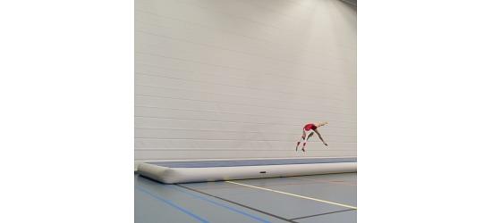 Sport-Thieme® AirTrack Zonder handblazer, 6x2x0,3 m