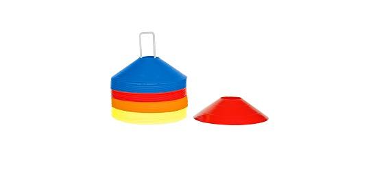 Sport-Thieme Sport-Thieme® Set Markeringshoedjes, ø 19 cm