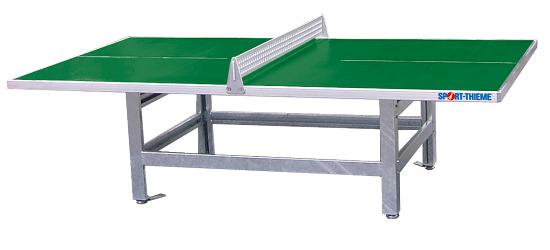 """Sport-Thieme® tafeltennistafel """"Standard"""" van polymeerbeton Groen"""