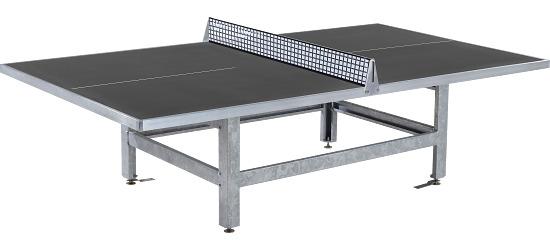 """Sport-Thieme® tafeltennistafel """"Standard"""" van polymeerbeton Antraciet"""