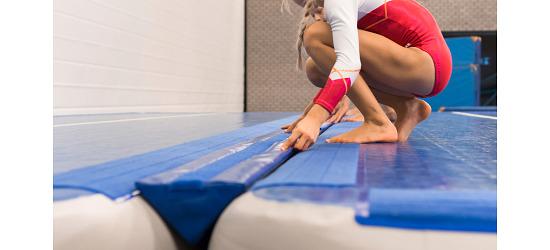 Sport-Thieme TrackConnect by AirTrack Factory Pour pistes AirTrack de 10 cm de hauteur