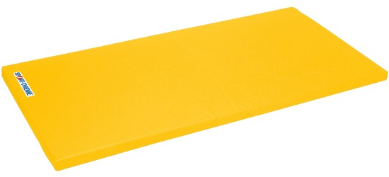 "Sport-Thieme® turnmat ""Spezial"" 200x125x6cm Basis, Polygrip geel"