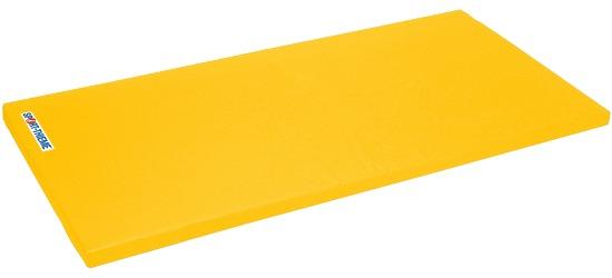 "Sport-Thieme Turnmat ""Super"" 200x125x8cm Basis, Polygrip geel"