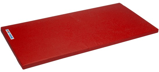 "Sport-Thieme Turnmat ""Super"" 200x125x8cm Basis, Polygrip rood"