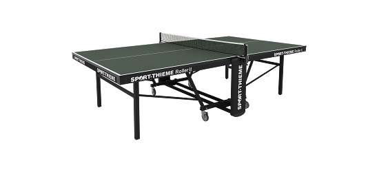 Table de tennis de table Sport-Thieme® « Roller II »   Vert