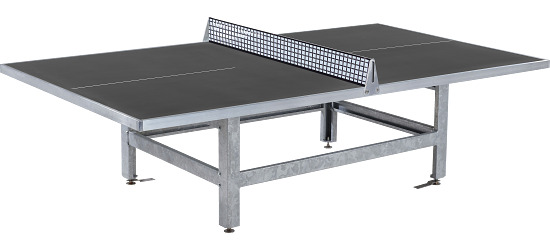 Table Sport-Thieme® en béton polymère « Standard »  Anthracite