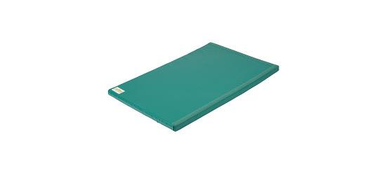 Tapis de gymnastique combinable Reivo® « Sécurité » Polygrip vert, 200x100x8 cm