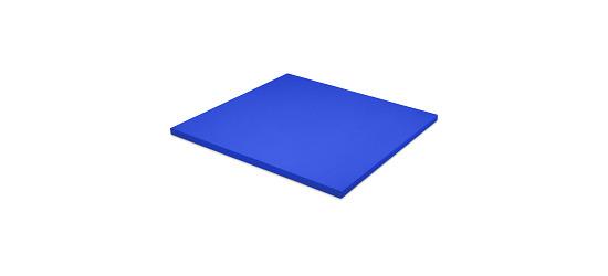 Tapis de judo Sport-Thieme Dalle d'env. 100x100x4 cm, Bleu