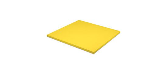 Tapis de judo Sport-Thieme Dalle d'env. 100x100x4 cm, Jaune