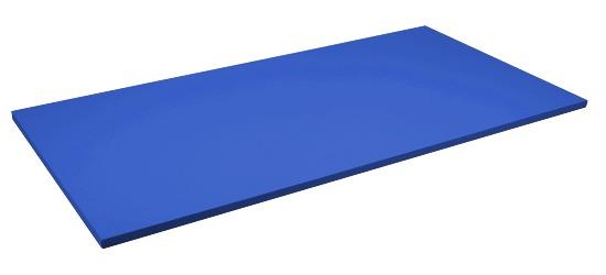 Tapis de judo Sport-Thieme Dalle d'env. 200x100x4 cm, Bleu