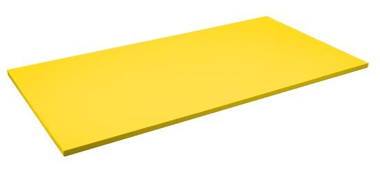 Tapis de judo Sport-Thieme Dalle d'env. 200x100x4 cm, Jaune