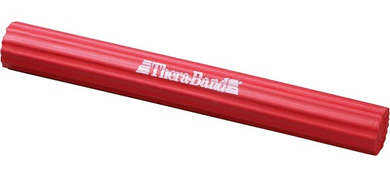 TheraBand™ Barre flexible  Rouge, env. 1,5 kg