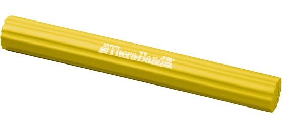 TheraBand™ Barre flexible  Jaune, 0,7 kg