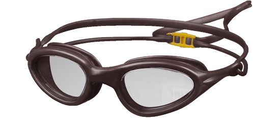 """Zwembril """"Top"""" Zwart/volwassenen"""