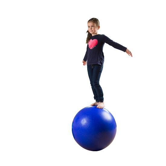 Boule d'équilibre ø env. 60 cm, 12 kg, Bleu foncé avec paillettes argentées