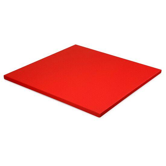 Judomat Afmeting ca. 100x100x4cm, Rood