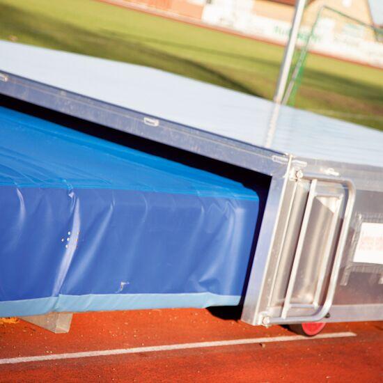 Abris roulant pour sautoir de saut à la perche 400x530x80 cm