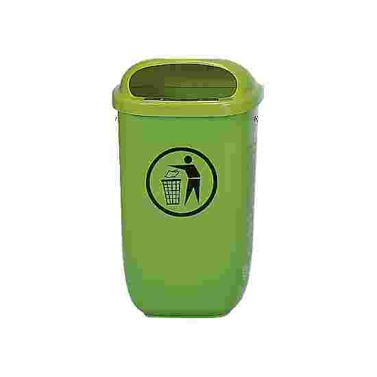 Afvalbak volgens DIN 30713 Standaard, Groen