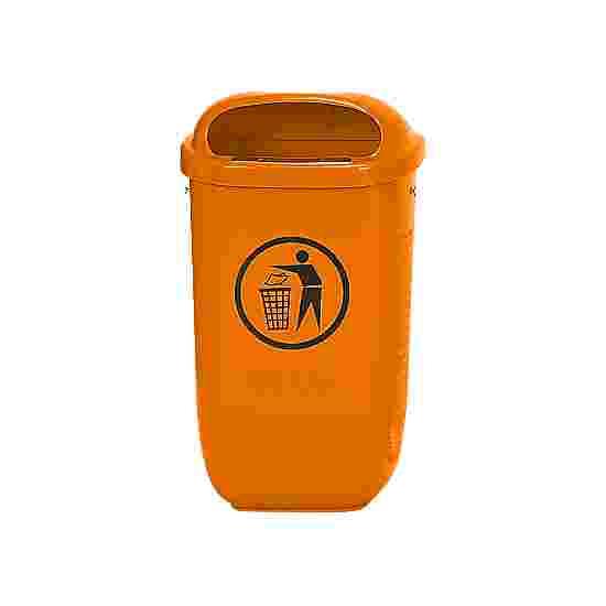 Afvalbak volgens DIN 30713 Standaard, Oranje