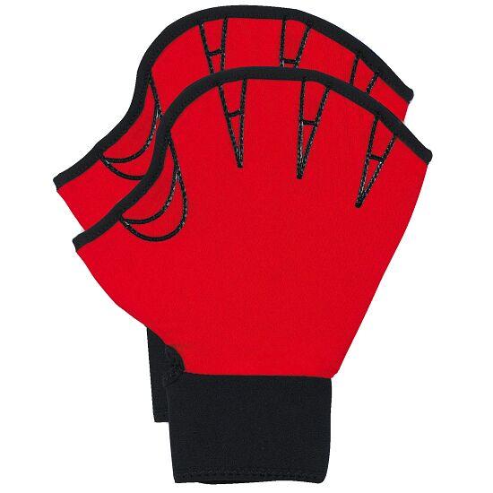 Aqua-fitness Handschoenen, open M, rood