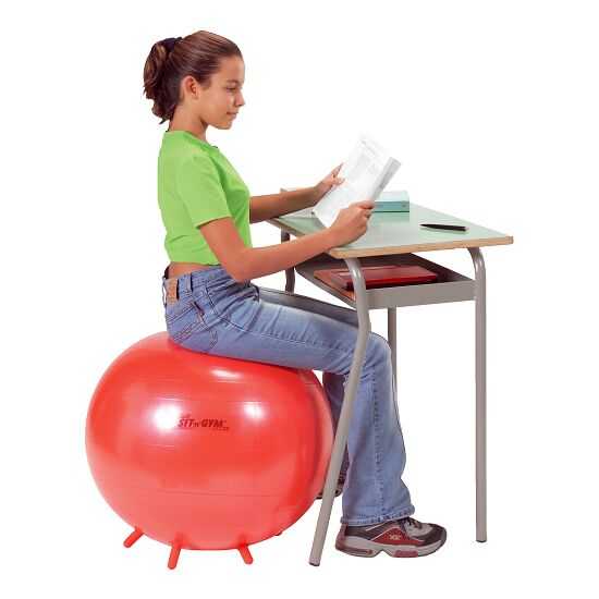 Ballon d'assise « Sit 'n' Gym » ø 55 cm, rouge