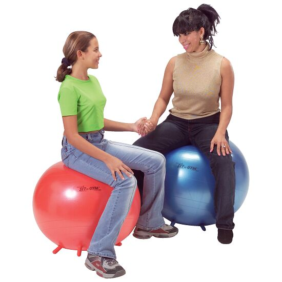 Ballon d'assise « Sit 'n' Gym » ø 65 cm, bleu