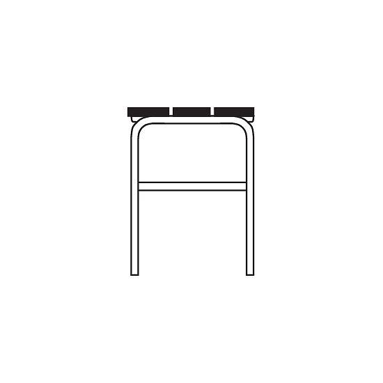 Banc de vestiaire Sypro Wolf® pour espaces secs sans dossier 1,01 m, Sans grille à chaussures