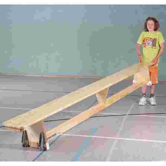 Banc suédois Sport-Thieme « Original » 2 m, Avec roulettes de transport