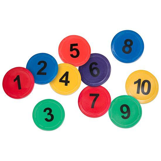 Bodemmarkeringen Nummers 1-10