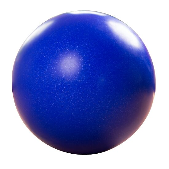 Boule d'équilibre ø env. 70 cm, 15 kg, Bleu foncé avec paillettes argentées