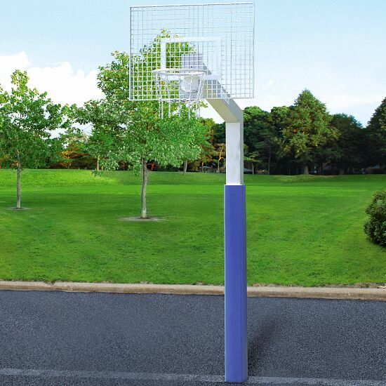 But de basket Sport-Thieme avec filet en chaîne « Fair Play Silent » Panier « Outdoor », 120x90 cm