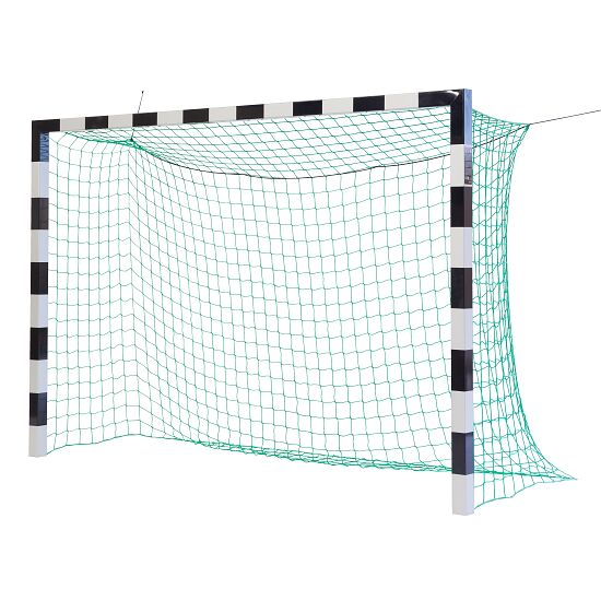 But de hand en salle Sport-Thieme® 3x2 m, avec fourreaux Sans supports de filet, Noir-argent