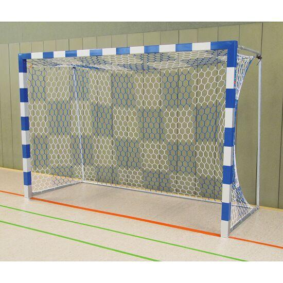 But de handball en salle Sport-Thieme Angles d'assemblage vissés, Bleu-argent